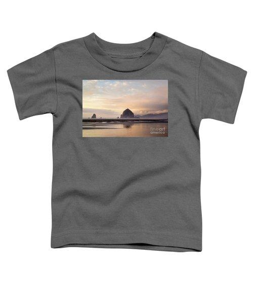 Haystack Rock After The Rain Toddler T-Shirt