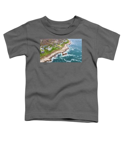 Hazard Rocks, Narragansett  Toddler T-Shirt