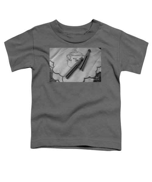 He Snored Toddler T-Shirt