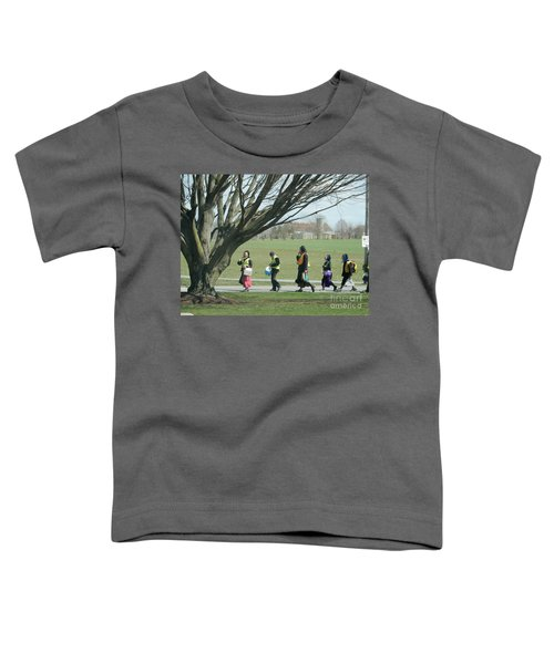 Heading Home From School Toddler T-Shirt