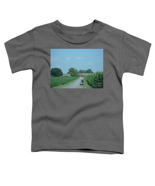 Heading Home From The Market Toddler T-Shirt
