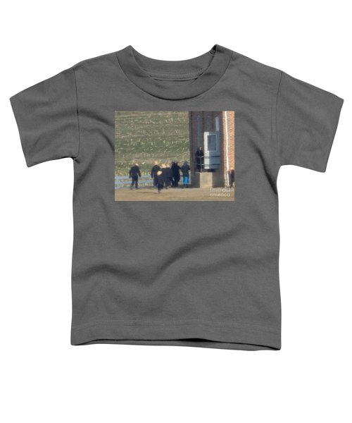 Heading Into The Schoolhouse Toddler T-Shirt