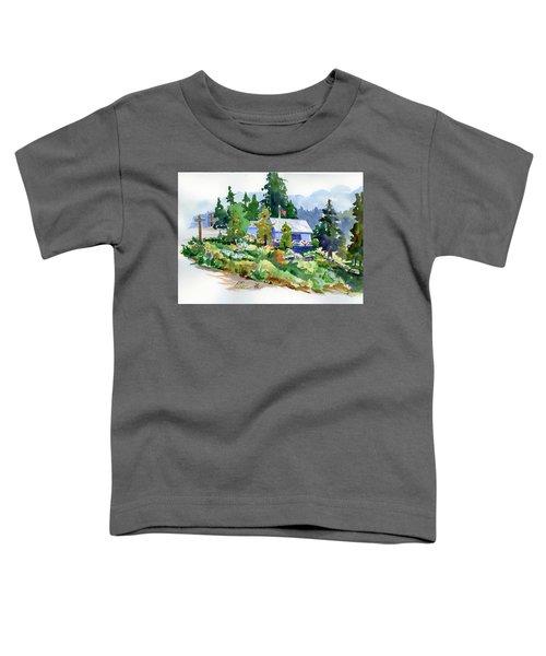 Hearse House Garden Toddler T-Shirt