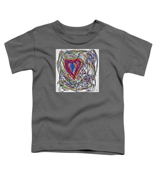 Heart In Motion Abstract Toddler T-Shirt