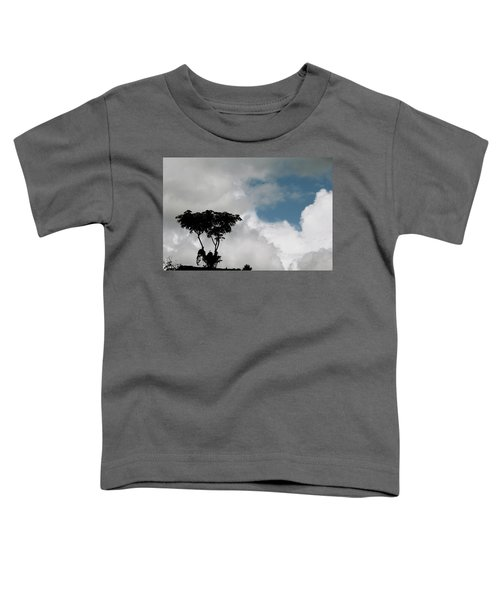 Heart In The Clouds Toddler T-Shirt