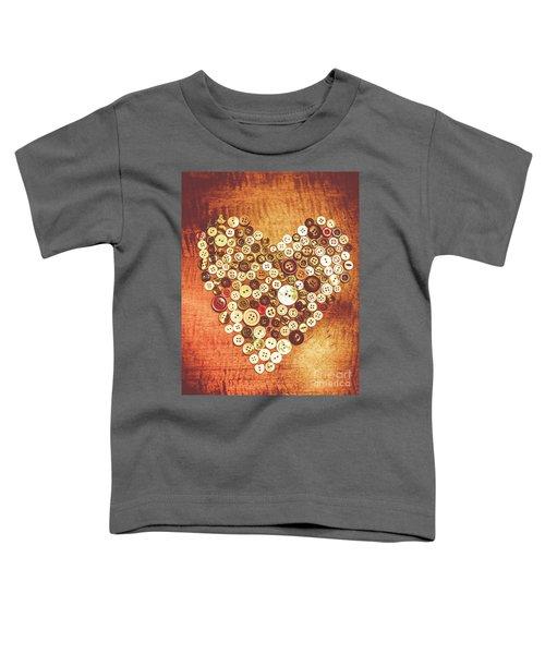 Heart Of A Tailor Toddler T-Shirt
