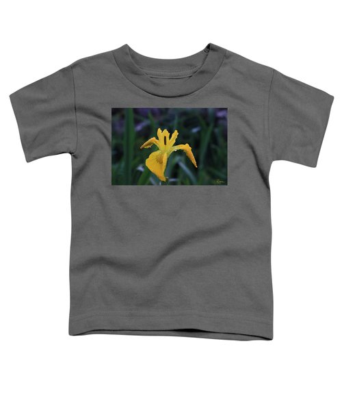 Heart Of Iris Toddler T-Shirt
