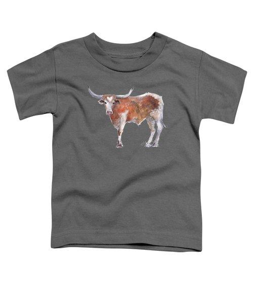 Heart Of Texas Longhorn Toddler T-Shirt