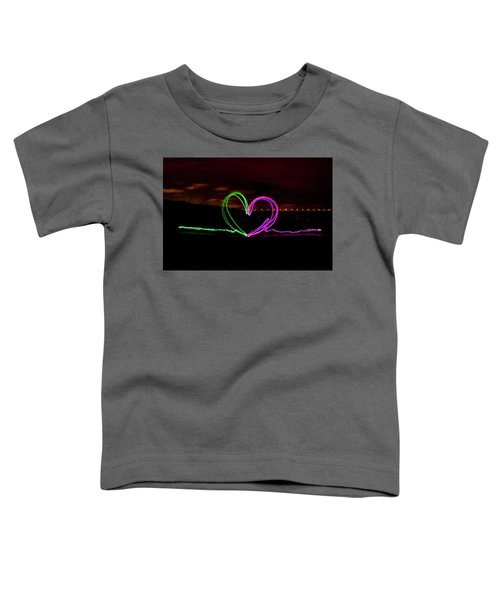 Hearts In The Night Toddler T-Shirt