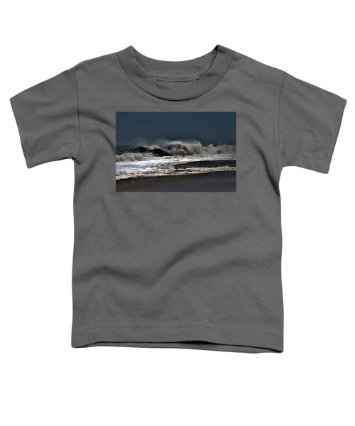 Stormy Surf Toddler T-Shirt