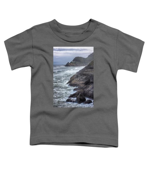 Heceta Head Light - Color Toddler T-Shirt