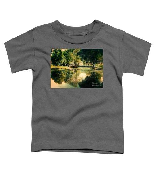 Heckscher Park Pond, Huntington Ny Toddler T-Shirt