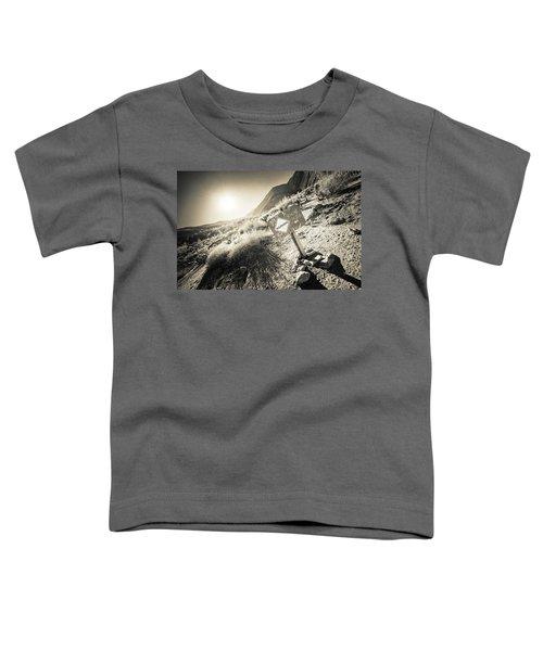 Hellhole Canyon Warning Toddler T-Shirt