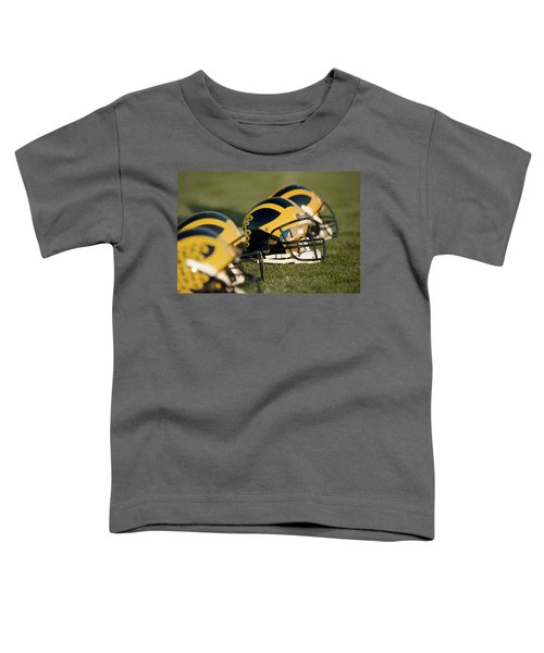 Helmets On The Field Toddler T-Shirt