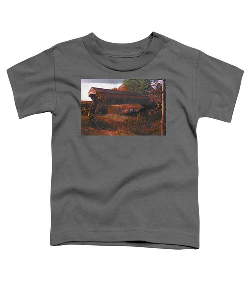 Hemlock Covered Bridge Toddler T-Shirt