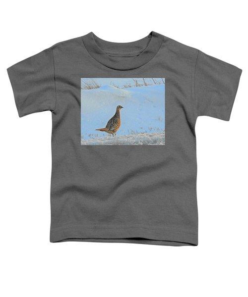 Hen Pheasant Toddler T-Shirt