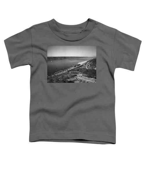 Henry Hudson Parkway, 1936 Toddler T-Shirt by Cole Thompson