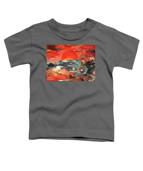 Here Comes The Weekend Aka Indian Rocks Beach Sunset Toddler T-Shirt