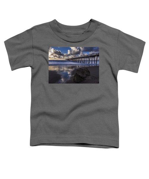 Hermosa Beach Pier Toddler T-Shirt