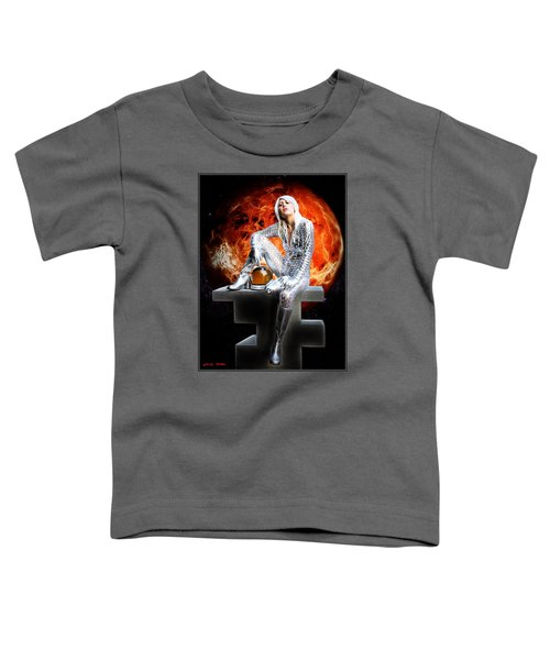 Heroine Of The Red Planet Toddler T-Shirt