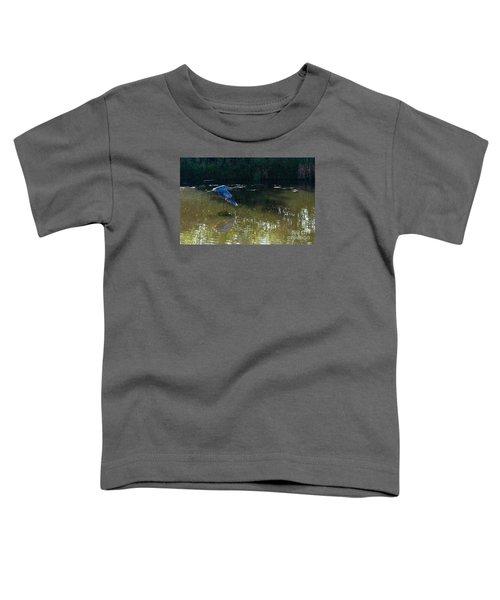 Heron Flight Toddler T-Shirt