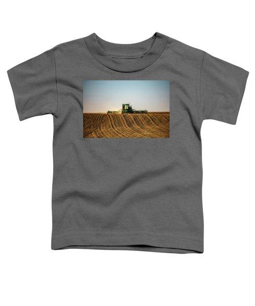 Herringbone Sowing Toddler T-Shirt