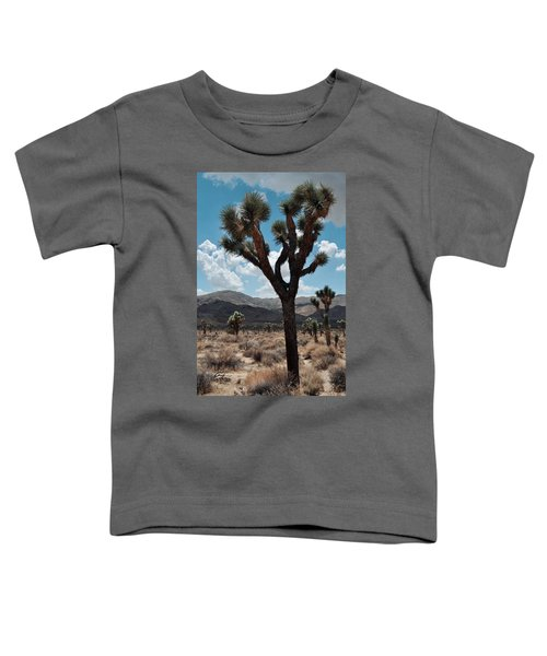 Hidden Valley Joshua Tree Portrait Toddler T-Shirt