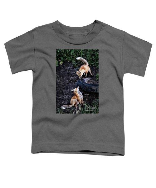 Hide-and-seek Toddler T-Shirt