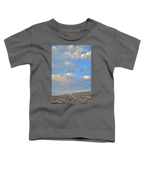 High Clouds Over Caineville Wash Toddler T-Shirt