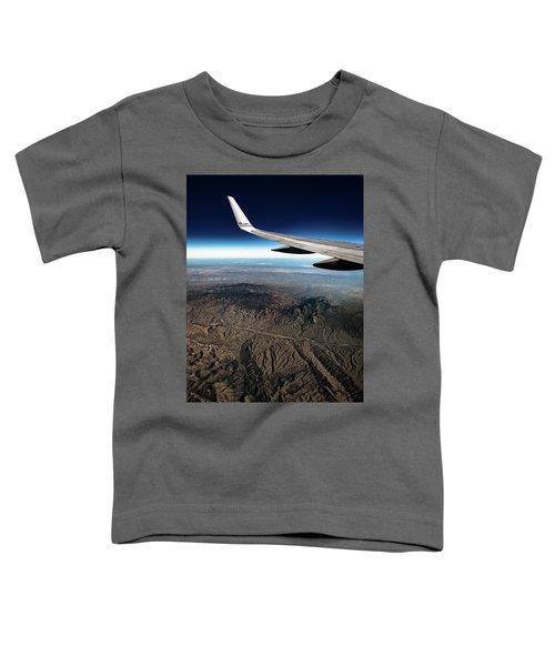 High Desert From High Above Toddler T-Shirt