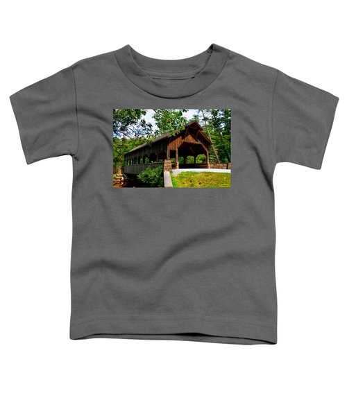 High Falls Covered Bridge Toddler T-Shirt