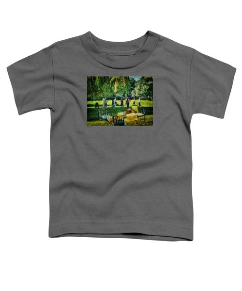 High Tea Tai Chi Toddler T-Shirt