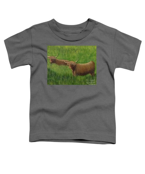 Highland Cows Toddler T-Shirt