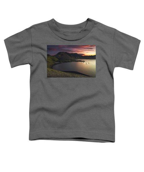 Highland Sunset Toddler T-Shirt