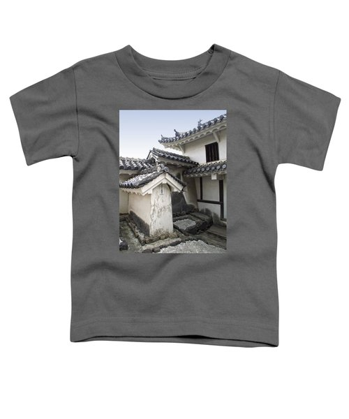 Himeji Castle Roofs And Gables - Japan Toddler T-Shirt