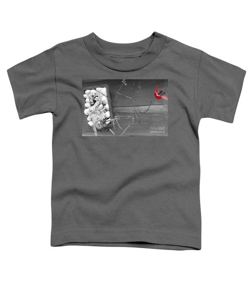 Hints Of Red Toddler T-Shirt