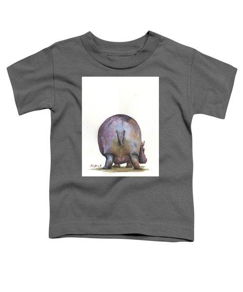 Hippo Back Toddler T-Shirt