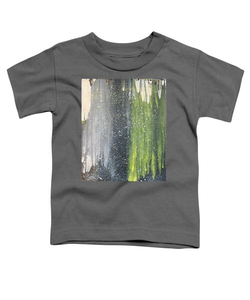 His World Toddler T-Shirt by Cyrionna The Cyerial Artist