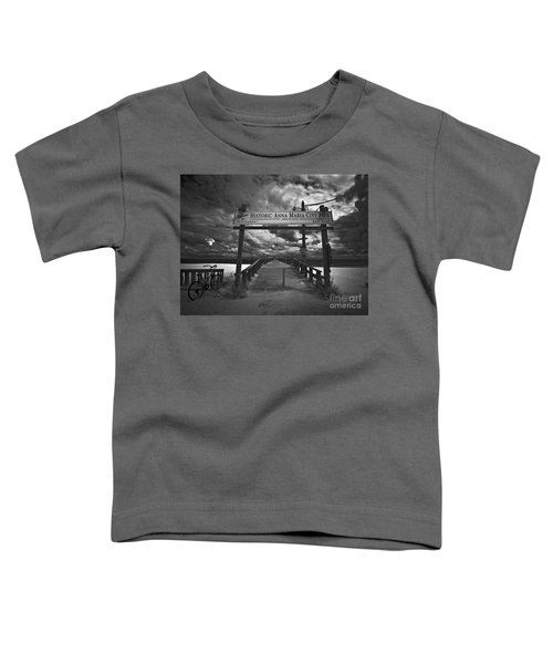 Historic Anna Maria City Pier 9177436 Toddler T-Shirt