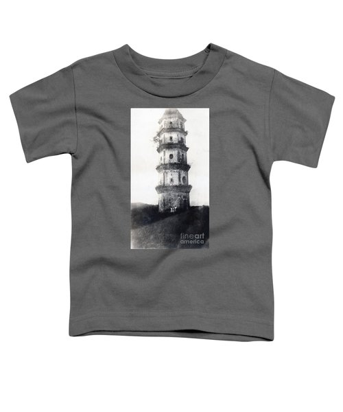 Historic Asian Tower Building Toddler T-Shirt