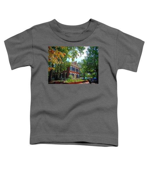 Historic Dahlonega Georgia Courthouse Toddler T-Shirt