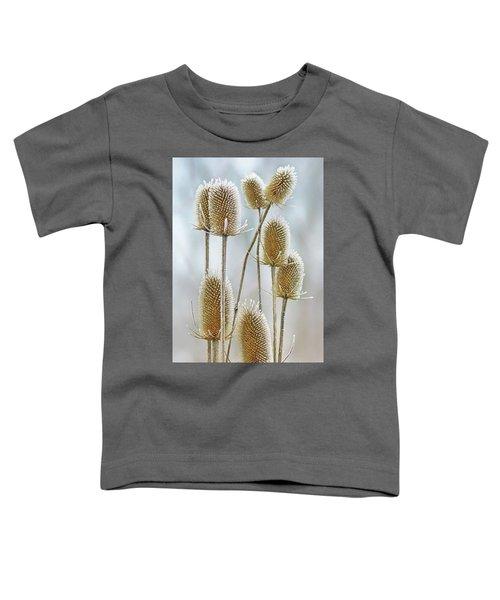 Hoar Frost - Wild Teasel Toddler T-Shirt