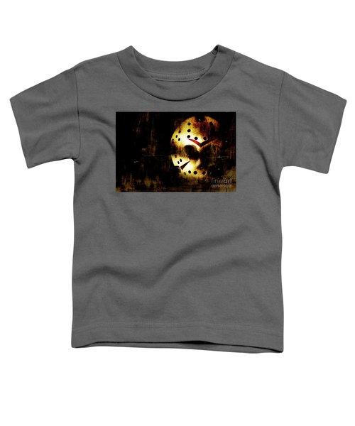Hockey Mask Horror Toddler T-Shirt