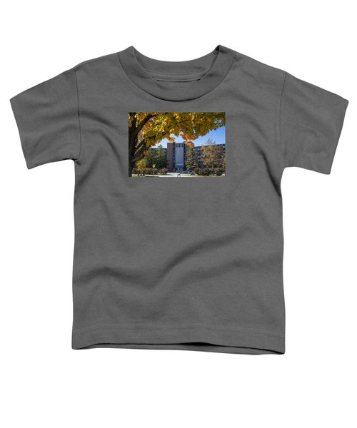 Holden Hall Cropped  Toddler T-Shirt