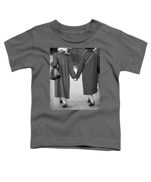 Holding Hands Friends Toddler T-Shirt
