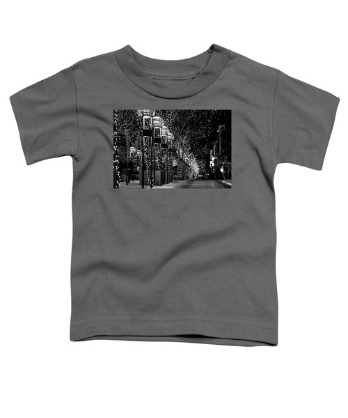Holiday Lights - 16th Street Mall Toddler T-Shirt