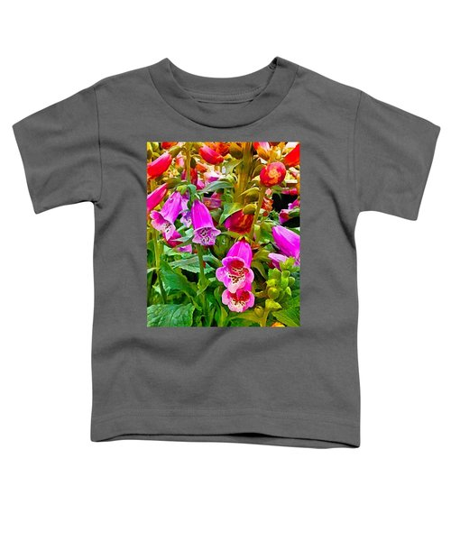 Hollyhock Detail Toddler T-Shirt