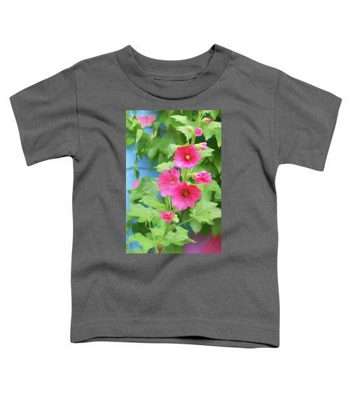 Hollyhocks - 1 Toddler T-Shirt