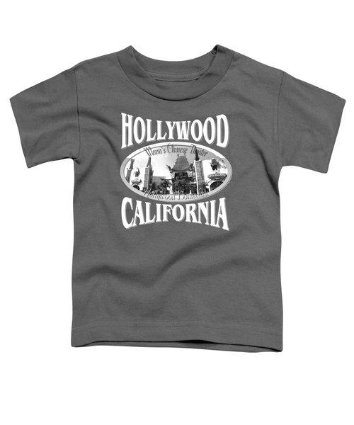 Hollywood California Design Toddler T-Shirt