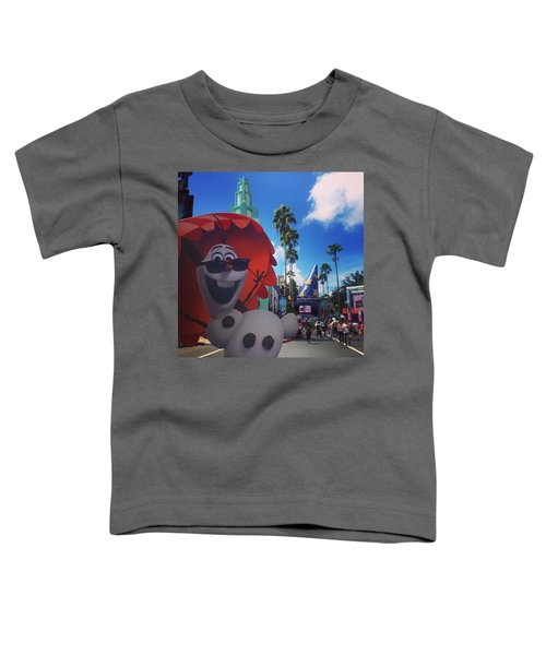Olafs Vacation  Toddler T-Shirt